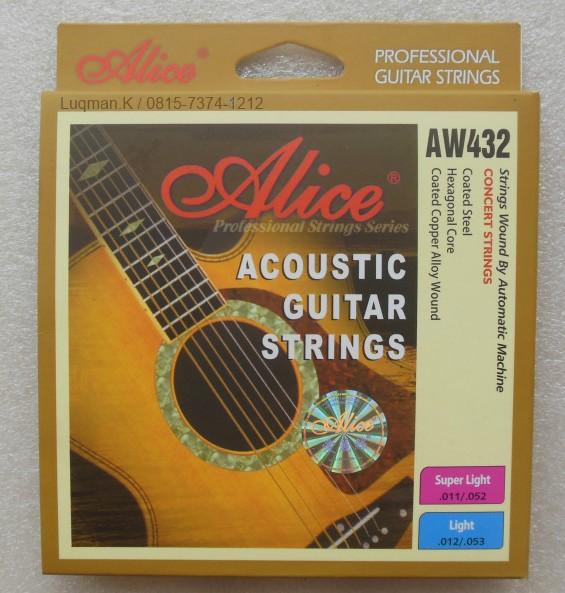 String Guitar Acoustic Alice AW432 terbuat dari material bahan impor dari Jepang dan Jerman. Dengan teknologi yang telah sangat berkembang dari Jepang