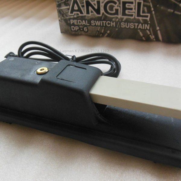 Pedal Sustain Angel Std dilengkapi lapisan anti-selip yang penting terutama di atas permukaan licin dan kabel yang panjang menjangkau jarak yang cukup jauh.