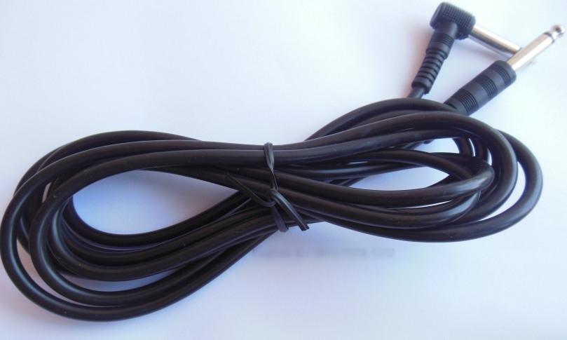 Cable Jack L Standard mampu menghantarkan suara yg spektakuler tanpa ada dengug. Kabel jack yang awet dan tahan lama cocok untuk bermacam gitar listrik.